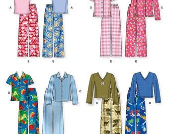 aa959b747 Kids pajamas pattern