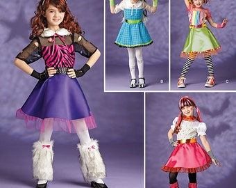 GIRLS COSTUME PATTERN / Make Monster High - Equestria Girls~Bratzillas Outfits / Halloween  sc 1 st  Etsy : draculaura costume pattern  - Germanpascual.Com