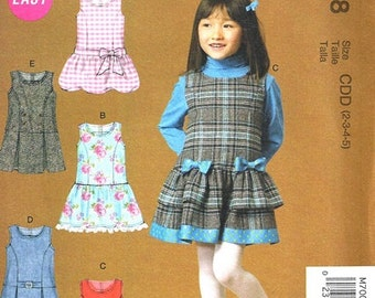 db72d6d906 GIRLS JUMPER PATTERN   School Clothes   Four Styles