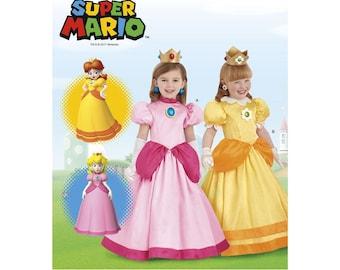 Princess Peach Dress Etsy