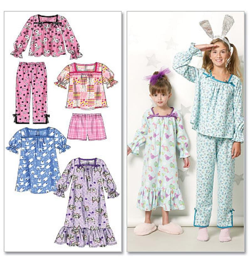 a9ac7c481607 PAJAMA NIGHTGOWN PATTERN   Retired   Make Pajamas