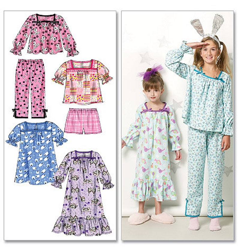 separation shoes 52e0d b0708 PYJAMA - NACHTHEMD patroon / pensioen / Make pyjama - nachthemden -  nachtkleding / kind formaat van 3-6 of meisje grootte 7 tot en met 14