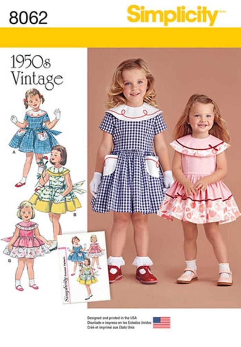 e15551a028a4a MODELLO DI ABITO RAGAZZE Fare Vintage stile anni 50 stile