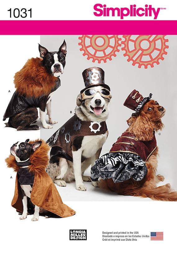 Hund Kostüm Muster / Steampunk Outfits / Mantel Hüte / Smal | Etsy