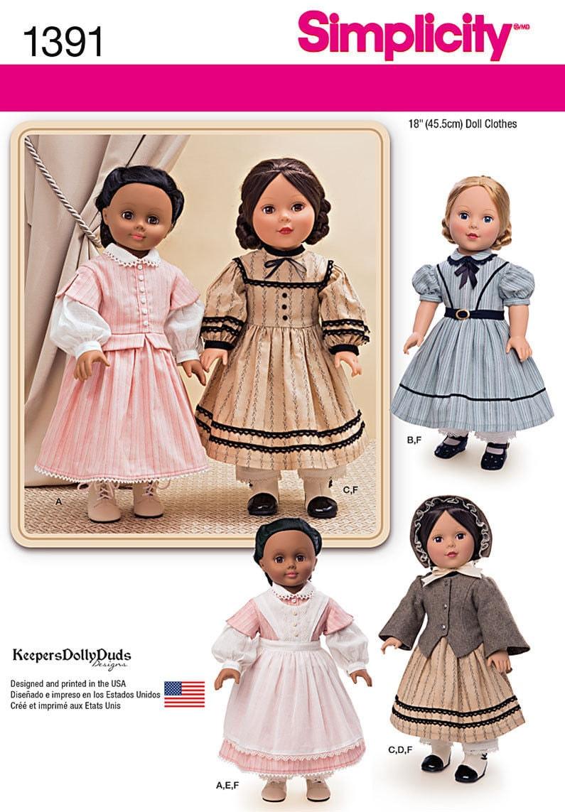 18 Doll Clothes Patterns Unique Design Ideas
