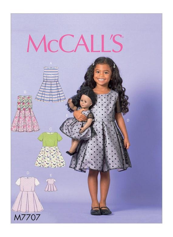 Mädchen Puppe Muster / passende Kleid / American Girl | Etsy