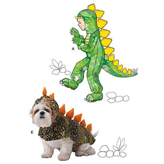 PATRÓN de traje de dinosaurio / trajes de niño y perro / | Etsy