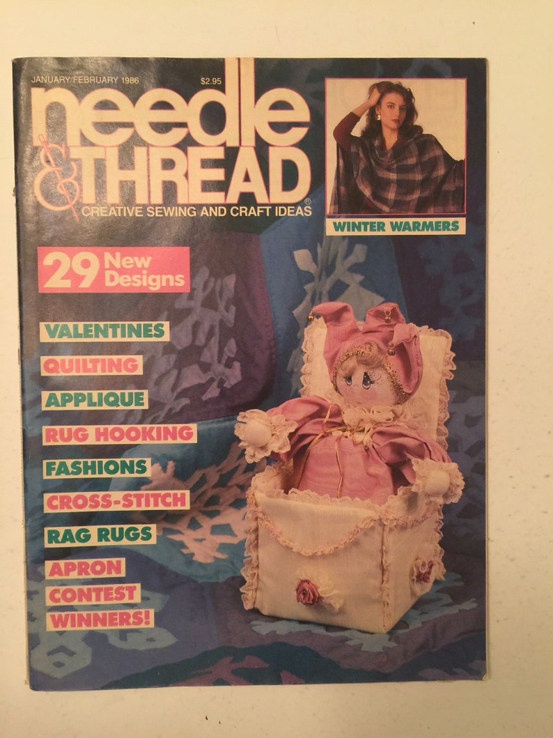 1986 January/February Needle & Thread