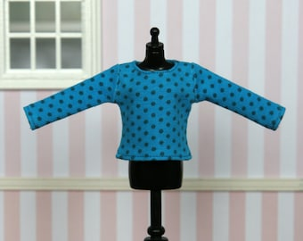 SALE * SALE * SALE * Long sleeved t-shirt for Blythe (no. 1427)