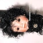 Glenda the Good Witch - Rattle Doll -   Fantasy Art Assemblage Oddity Doll
