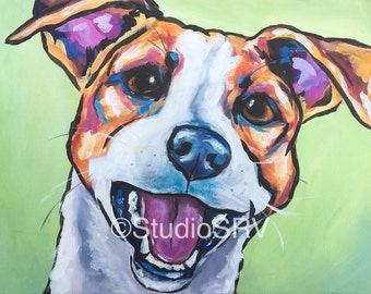 Jack Russell terrier original 8x10 sale!
