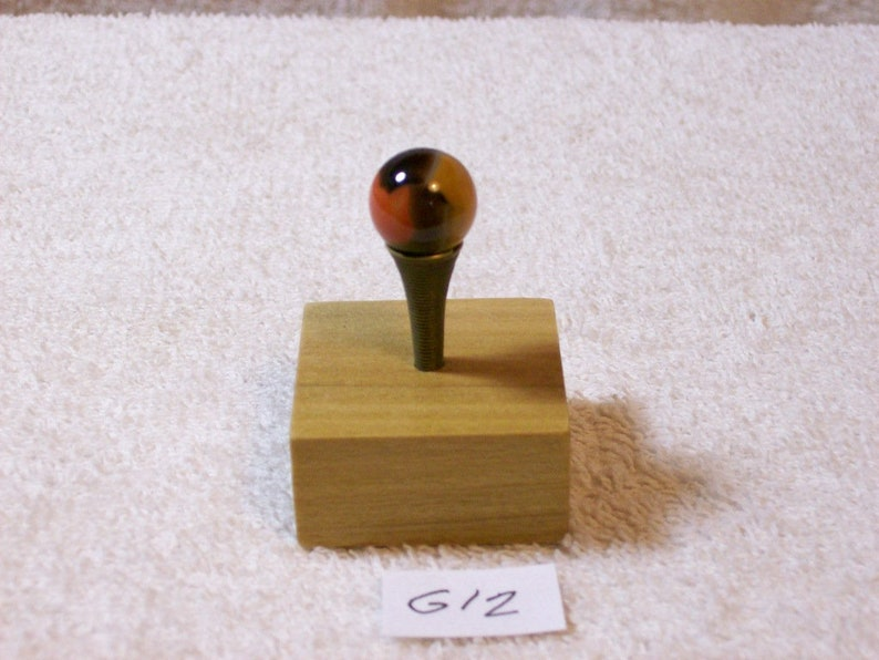 Blackie Marble With Display  G12 Vitro Agate Co
