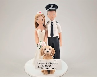 Customized cake toppers by MUDCARDS by mudcards on Etsy