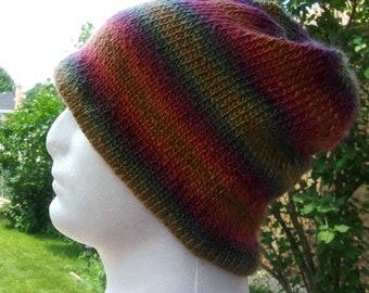 6a2d56ce4f9a4b Ready to Ship Basic Beanie in Polo - Men's Slouchy Knit Hat - Man Knit  Beanie