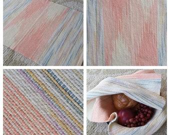 Pastels Hand/Tea/Bread/Dish Towel 100 percent Cotton