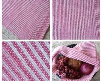 Pretty in Pink Hand/Tea/Bread/Dish Towel 100 percent Cotton