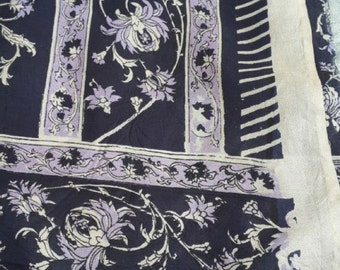 second-hand silk sari sections- Z 15, 16