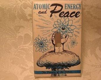Atomic Peace Switchplate