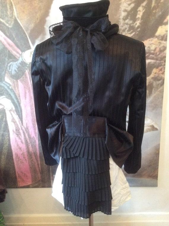 size bohemian style Gothic Retro couture evening G Victorian Jacket regency Neo plus 42 goth tailcoat coat gypsy egl tuxedo bustle chest UqqZOFR