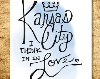 Kansas City Love 8x10 Print