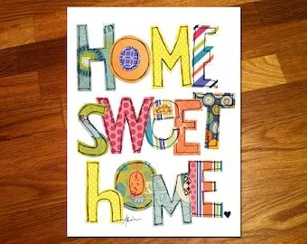 Home Sweet Home 11x14 Print