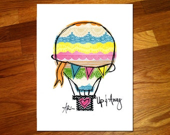 Up and Away 8x10 Print