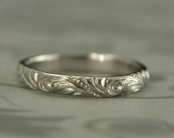 Platinum Ring Etsy