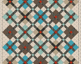 Baby Argyle PDF Quilt Pattern by MadCreekDesigns