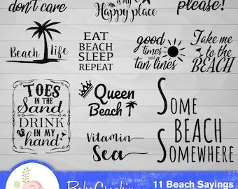 Beach sayings | Etsy
