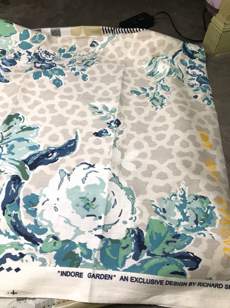Printed Linen Fabric 1 piece only