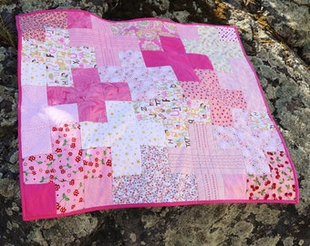 Plus One Modern Baby Quilt Pattern | Instant PDF Download | Easy Quilt Pattern | Gift for Babies, Toddlers, Children