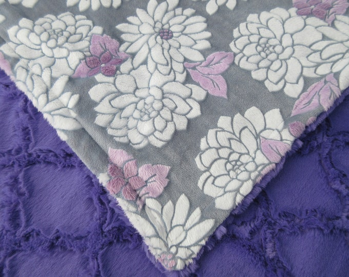 Mar Bella Purple Floral with Orchid Lattice, In Stock Ready to Ship
