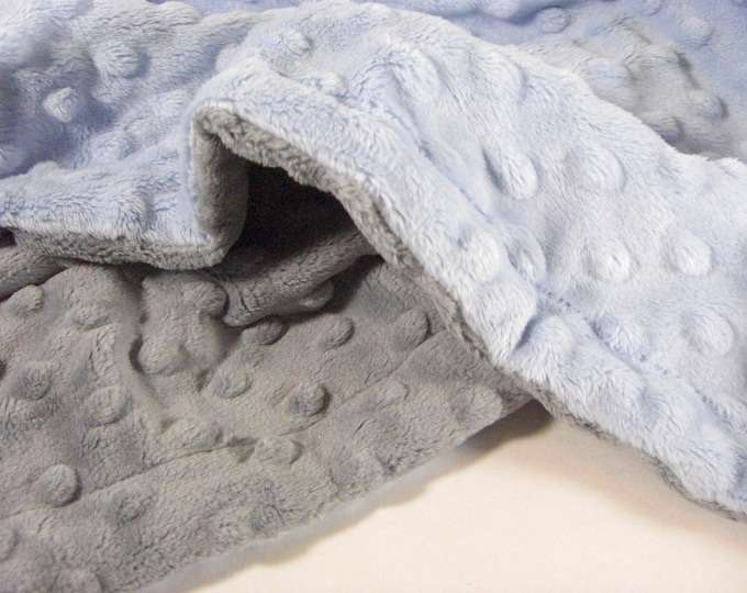 Custom Minky Baby Blanket - for baby boy or girl