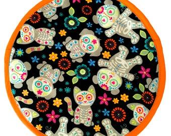 Muerto Bears - Orange Tortilla Warmer