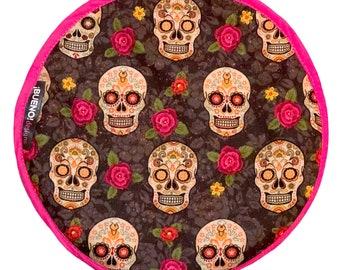 NEW! Skulls & Roses Tortilla Warmer