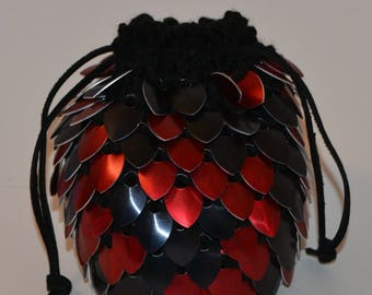 scalemail dice bag etsy