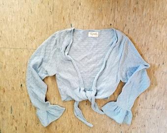 864f09cc2ea2 Ballet wrap sweater