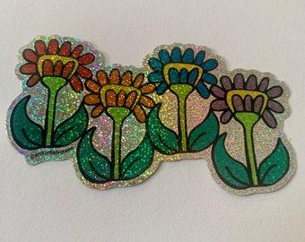 Otto Flowers Sticker