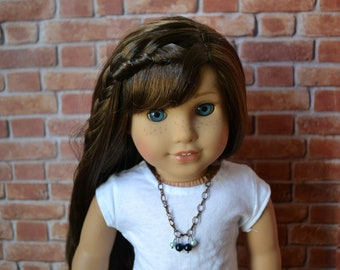 18 inch Doll Clothes -  Dark and Light Necklace - DOLL JEWELRY - fits American Girl - #006