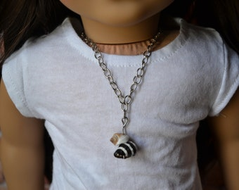 18 inch Doll Clothes -  Beachcomber Necklace - DOLL JEWELRY - fits American Girl - #004