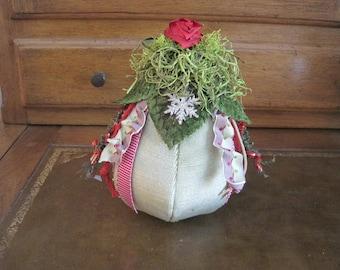 Hand Made Holiday Pear