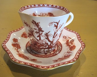 Vintage Coalport Indian Tree Cup and Saucer