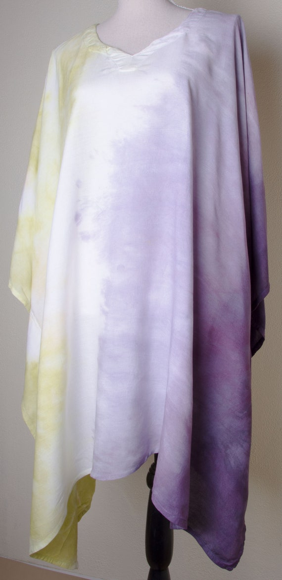 062addaf004 Pastel poncho rayon womens dress plus size hippie Rayon india