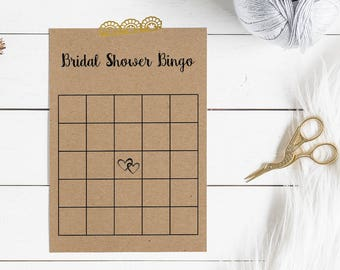 printable bridal shower game bridal shower bingo printable bridal shower bingo cards heart bridal shower rustic bridal shower games
