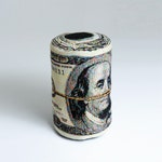 Rolled Banknote Shape Pillow, US dollar - Free shipping world-wide