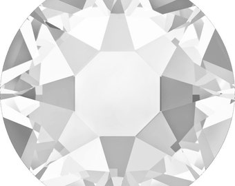 055422bce936 34ss 7mm Crystal  001 Swarovski  2078 Flat Back Hotfix Crystals