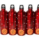 Personalized Aluminum Water Bottle - 25 fl.oz. - Basketball