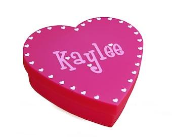 Personalized Heart Box - Valentine's Day