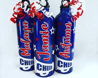 Personalized Aluminum Bottle - Cheer