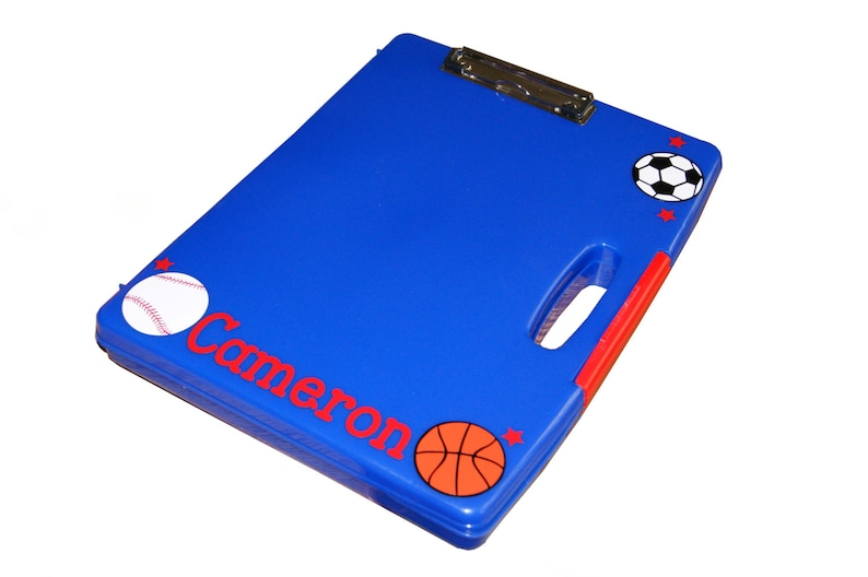 Personalized Clipboard Case  Sports image 0